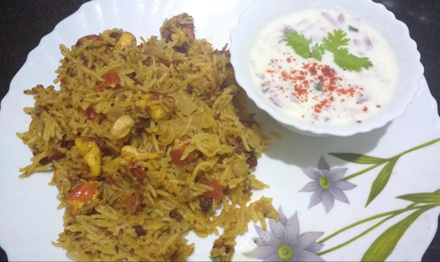 Paneer/ Tofu Biriyani