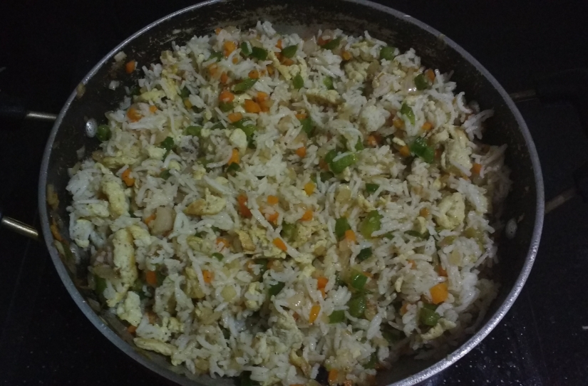 Fuss- free Egg Fried Rice