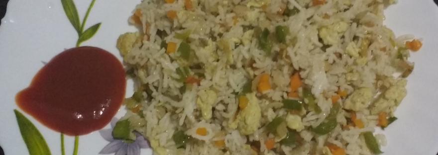 Fuss- free Egg Fried Rice